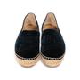 Authentic Second Hand Chanel Velvet 'CC' Cap Toe Espadrilles (PSS-A82-00004) - Thumbnail 0