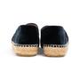 Authentic Second Hand Chanel Velvet 'CC' Cap Toe Espadrilles (PSS-A82-00004) - Thumbnail 2