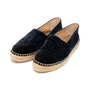 Authentic Second Hand Chanel Velvet 'CC' Cap Toe Espadrilles (PSS-A82-00004) - Thumbnail 3