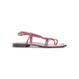 Authentic Second Hand Gucci Logo Thong Sandals  (PSS-A76-00001) - Thumbnail 1