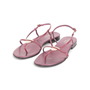 Authentic Second Hand Gucci Logo Thong Sandals  (PSS-A76-00001) - Thumbnail 3