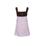 Authentic Second Hand Louis Vuitton Broderie Angalise Shift Dress (PSS-990-00626) - Thumbnail 1