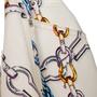 Authentic Second Hand Louis Vuitton Chainlink Print Skirt (PSS-990-00639) - Thumbnail 5