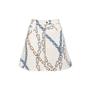 Authentic Second Hand Louis Vuitton Chainlink Print Skirt (PSS-990-00639) - Thumbnail 0