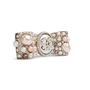 Authentic Second Hand Chanel Pearl Ribbon Brooch (PSS-200-02014) - Thumbnail 1