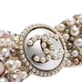 Authentic Second Hand Chanel Pearl Ribbon Brooch (PSS-200-02014) - Thumbnail 4
