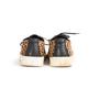 Authentic Second Hand Yves Saint Laurent Leopard Print Calf Hair Sneakers (PSS-617-00054) - Thumbnail 2