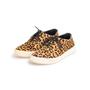 Authentic Second Hand Yves Saint Laurent Leopard Print Calf Hair Sneakers (PSS-617-00054) - Thumbnail 3