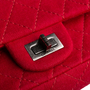 Authentic Second Hand Chanel Quilted Jersey Reissue Flap Bag (PSS-340-01649) - Thumbnail 8