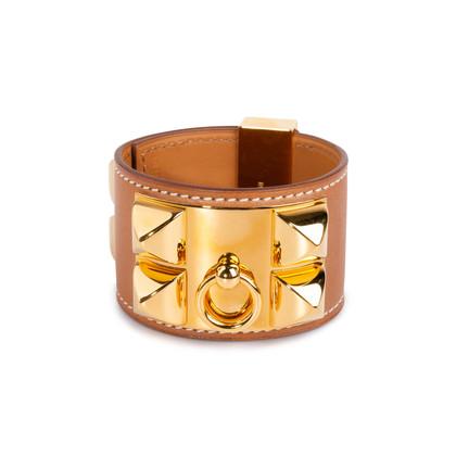 Authentic Second Hand Hermès Barenia Collier de Chien (PSS-034-00084)