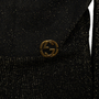 Authentic Second Hand Gucci Sparkly Logo Cardigan (PSS-990-00705) - Thumbnail 2
