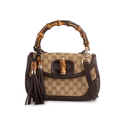 Authentic Second Hand Gucci Medium Bamboo Handle Bag (PSS-247-00217)