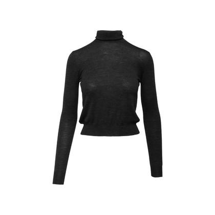 Authentic Second Hand Prada Turtleneck Knit Sweater (PSS-515-00447)