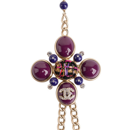 Authentic Second Hand Chanel Brooch Long Necklace (PSS-017-00026)