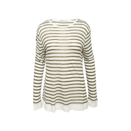 Authentic Second Hand T by Alexander Wang Striped Long Sleeved Top (PSS-859-00135)