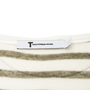 Authentic Second Hand T by Alexander Wang Striped Long Sleeved Top (PSS-859-00135) - Thumbnail 2