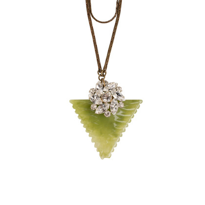 Authentic Second Hand Lulu Frost Demeter Triangle Necklace (PSS-859-00116)