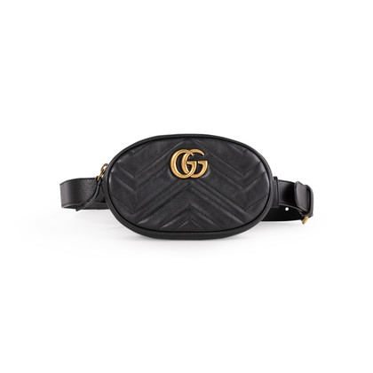 Authentic Second Hand Gucci GG Marmont Belt Bag (PSS-A92-00002)