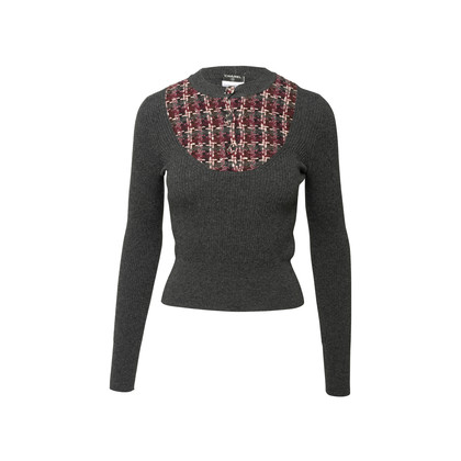 Authentic Second Hand Chanel Button Jumper (PSS-789-00049)