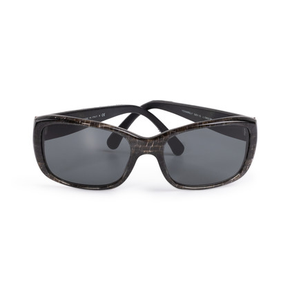 Authentic Second Hand Chanel Quilted Sunglasses (PSS-789-00023)