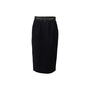 Authentic Second Hand Hermès Wool Midi Skirt (PSS-789-00041) - Thumbnail 0