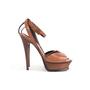 Authentic Second Hand Saint Laurent Tribute Lips Sandals (PSS-048-00191) - Thumbnail 1