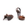 Authentic Second Hand Saint Laurent Tribute Lips Sandals (PSS-048-00191) - Thumbnail 5