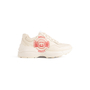 Authentic Second Hand Gucci Rhyton Logo Sneakers (PSS-048-00192) - Thumbnail 1