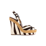 Authentic Second Hand Christian Louboutin Almeria 120 Wedge Sandals (PSS-048-00193) - Thumbnail 1