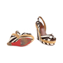 Authentic Second Hand Christian Louboutin Almeria 120 Wedge Sandals (PSS-048-00193) - Thumbnail 5