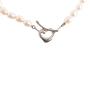 Authentic Second Hand Tiffany & Co Open Heart Pearl Necklace (PSS-A46-00022) - Thumbnail 2
