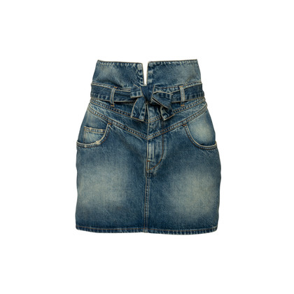 Authentic Second Hand The Attico Virgi Denim Mini Skirt (PSS-048-00198)