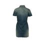 Authentic Second Hand Saint Laurent Denim Mini Dress (PSS-048-00202) - Thumbnail 1