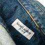 Authentic Second Hand Saint Laurent Denim Mini Dress (PSS-048-00202) - Thumbnail 2
