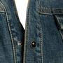Authentic Second Hand Saint Laurent Denim Mini Dress (PSS-048-00202) - Thumbnail 4