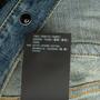 Authentic Second Hand Saint Laurent Denim Mini Dress (PSS-048-00202) - Thumbnail 3