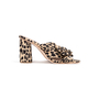 Authentic Second Hand Loeffler Randall Leopard Penny Knot Mules (PSS-886-00024) - Thumbnail 1