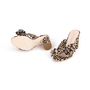Authentic Second Hand Loeffler Randall Leopard Penny Knot Mules (PSS-886-00024) - Thumbnail 4