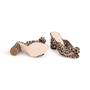 Authentic Second Hand Loeffler Randall Leopard Penny Knot Mules (PSS-886-00024) - Thumbnail 5
