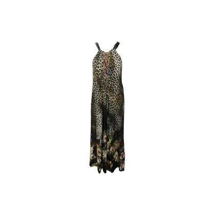 Authentic Second Hand Camilla Leopard Print Cut Out Maxi Dress (PSS-886-00027)