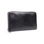 Authentic Second Hand Prada Saffiano Zip Around Wallet (PSS-332-00052) - Thumbnail 1