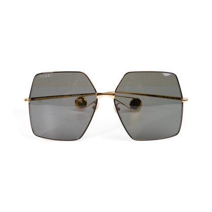 Authentic Second Hand Gucci GG0536S Oversized Sunglasses (PSS-332-00048)