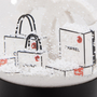 Authentic Second Hand Chanel Shopping Bags Snow Globe (PSS-674-00008) - Thumbnail 5