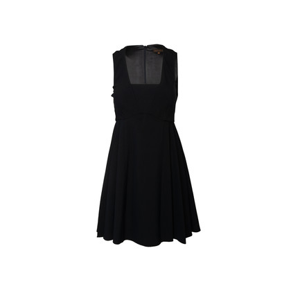 Authentic Second Hand Adolfo Dominguez Pleated Waist Dress (PSS-A95-00006)