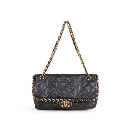 Authentic Second Hand Chanel Chain Me Around Flap Bag (PSS-114-00047)
