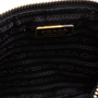 Authentic Second Hand Prada Bow Zip Nappa Pouch (PSS-114-00050) - Thumbnail 5