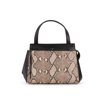 Authentic Second Hand Céline Python Edge Bag (PSS-A64-00038)
