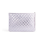 Authentic Second Hand Chanel Perforated O Case Pouch (PSS-A93-00005) - Thumbnail 2