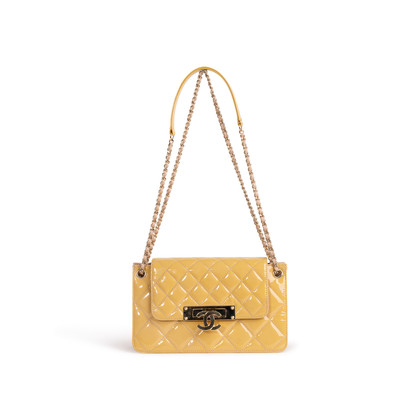 Authentic Second Hand Chanel Golden Class Accordion Flap Bag (PSS-A93-00006)