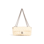Authentic Second Hand Chanel East West Flap Bag (PSS-A93-00007) - Thumbnail 0